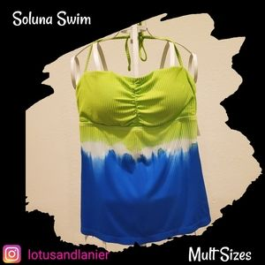 Soluna Tye Dye Tankini Top Mult Sizes